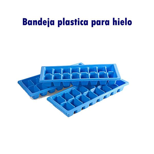 Bandeja plástica para hielo