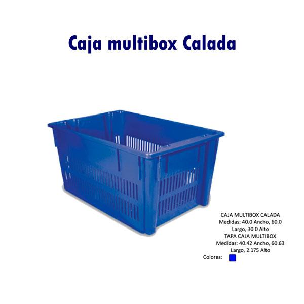 Caja Multibox calada
